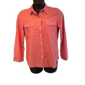 Ralph Lauren button up blouse